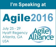 Agile Coach Victor Bonacci speaking at Agile2016 Atlanta