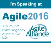 Agile Coach Victor Bonacci speaking at Agile2016 Atlanta